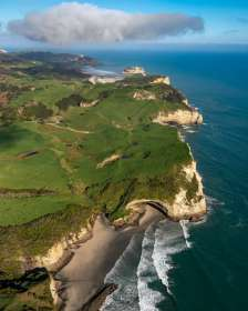 Cape Farewell From Above