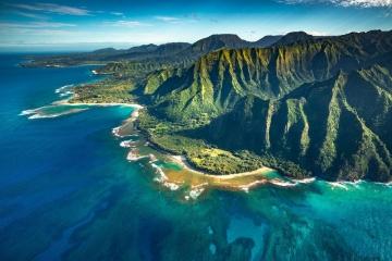 Na Pali Coast Aerial #1