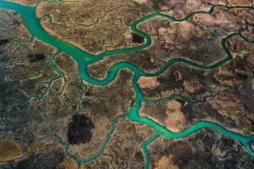 River Delta Winding