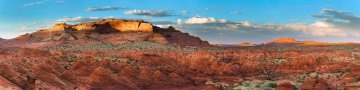 Coyote Buttes North Sunset Panorama