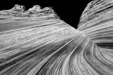 Monochrome Wave #1