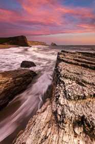 Panther Beach Coastal Sunset