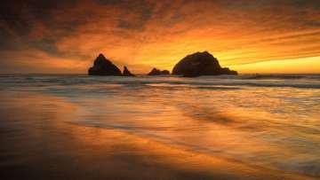Seal Rocks Sunset #1
