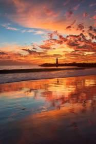 Rorschach Sunset
