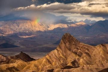 Zabriskie Point Rainbow