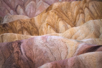 Zabriskie Point Layers