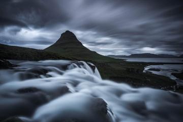 Storm Over Kirkjufell