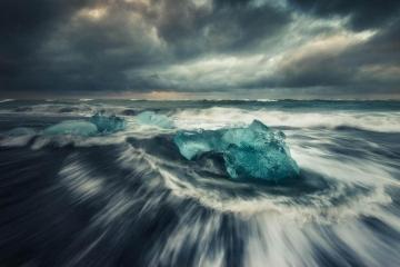 Iceland's Stormy Seas