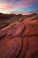 Sandstone Desert Sunrise