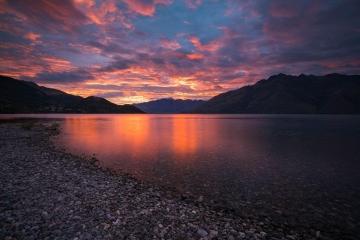 Lake Wakatipu Sunrise Glory