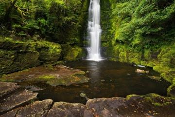 The Catlins' McLean Falls