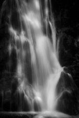 Madison Falls in Monochrome