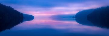 Lake Crescent Morning Blues