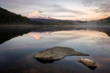 Trillium Lake Sunset #2