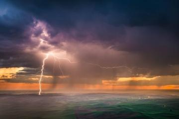 Steptoe Lightning Storm