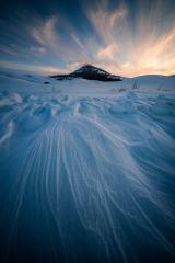 Winter Steptoe Sunset