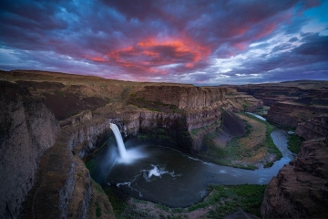 Palouse Falls Sunset #2