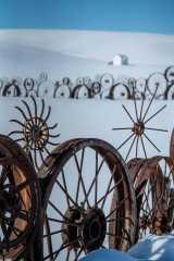 Winter Wheels in Palouse