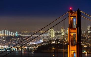 San Francisco Night Lights