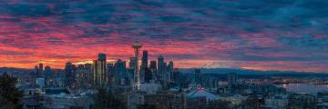 Seattle-Skyline-Sunrise-Panorama-3