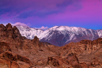 Glow Above the Alabama Hills