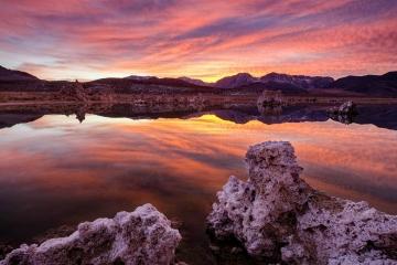 Reflections of Mono Lake