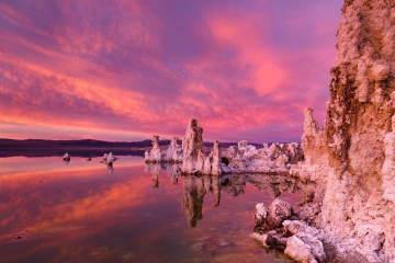 Sunset Skies Over Mono Lake