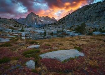 Picture Peak Sunset