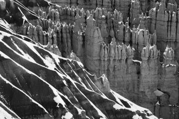 Defining Lines of Bryce Canyon