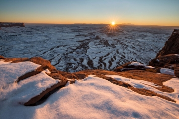 Winter's Blanket at Canyonlands