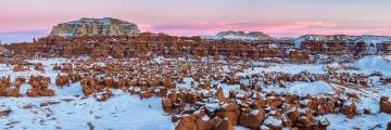 Goblin Valley Sunset Panorama