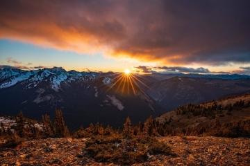 North Cascades Sunset