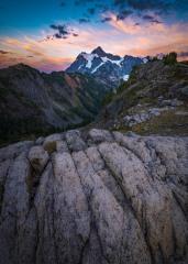 Mount Shuksan Sunset