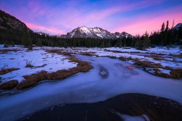 Mountain Meadow Evening