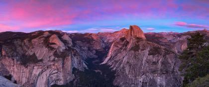 Glacier Point Sunset Panorama