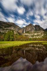 Yosemite Falls Reflecting Pool