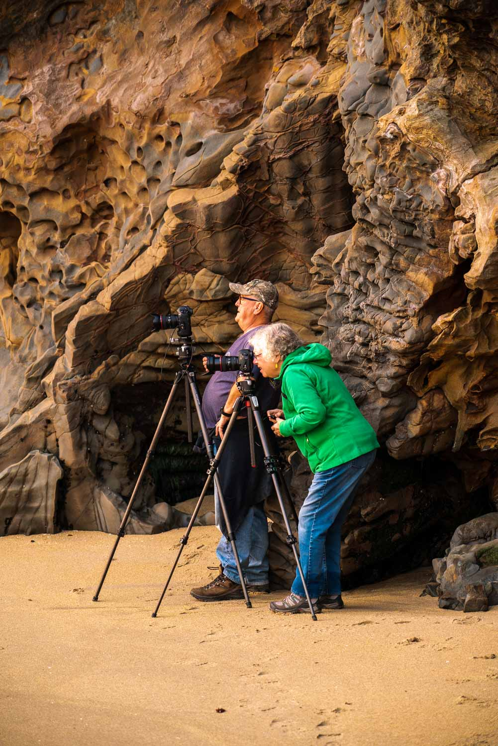 photography workshop along the California coast