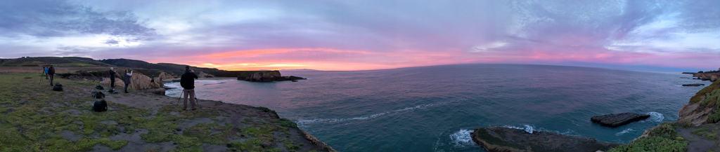 California Coast photo workshop sunrise