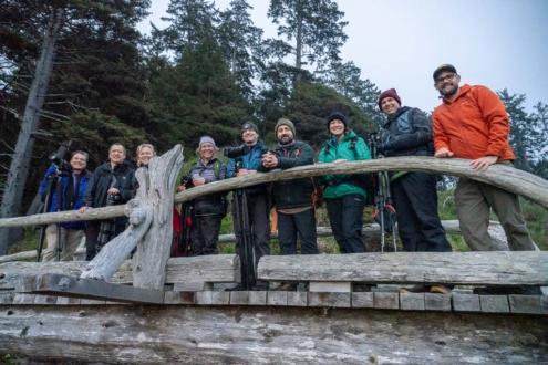 Olympic National Park photo workshop group image
