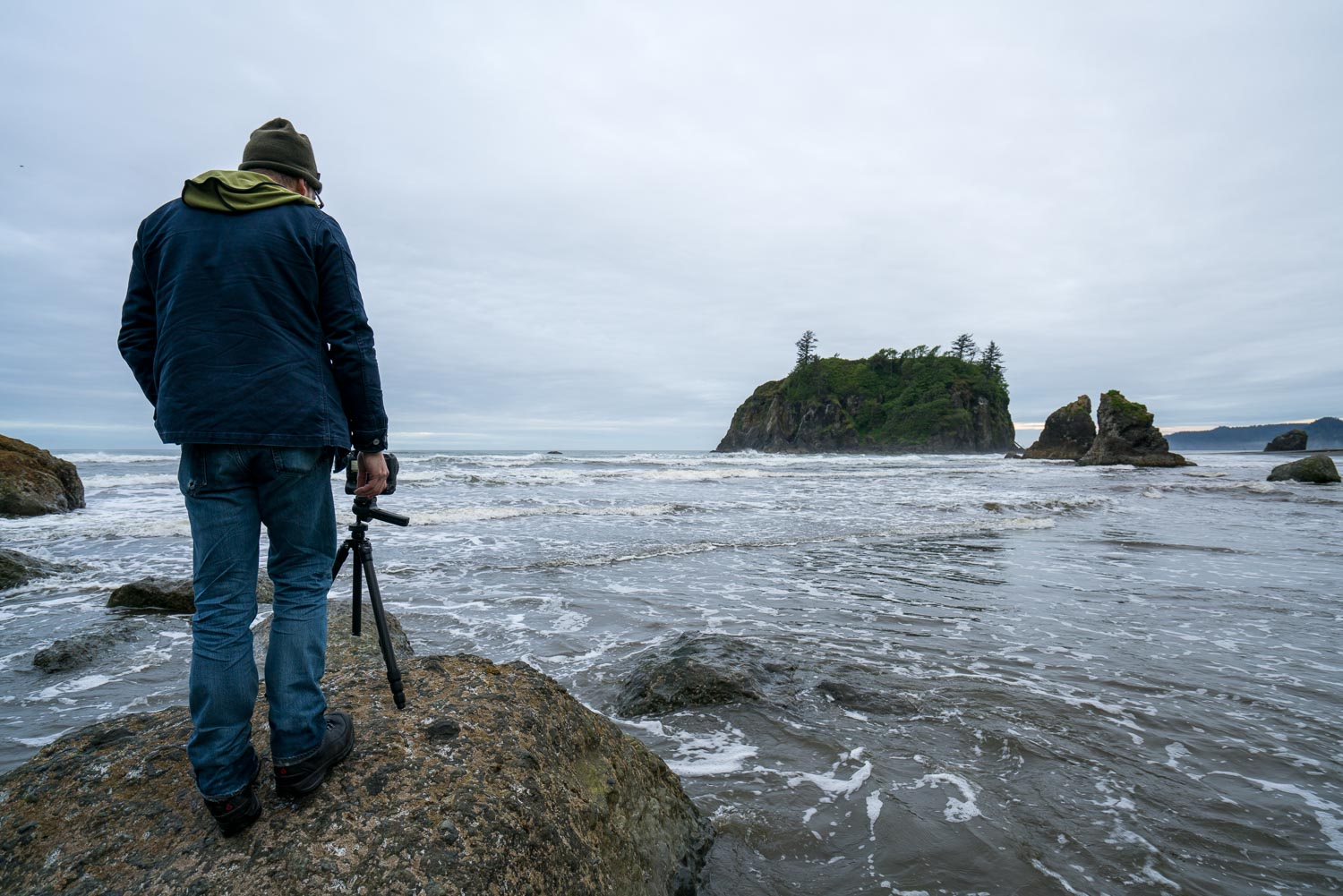 Photography workshop in Olympic National Park