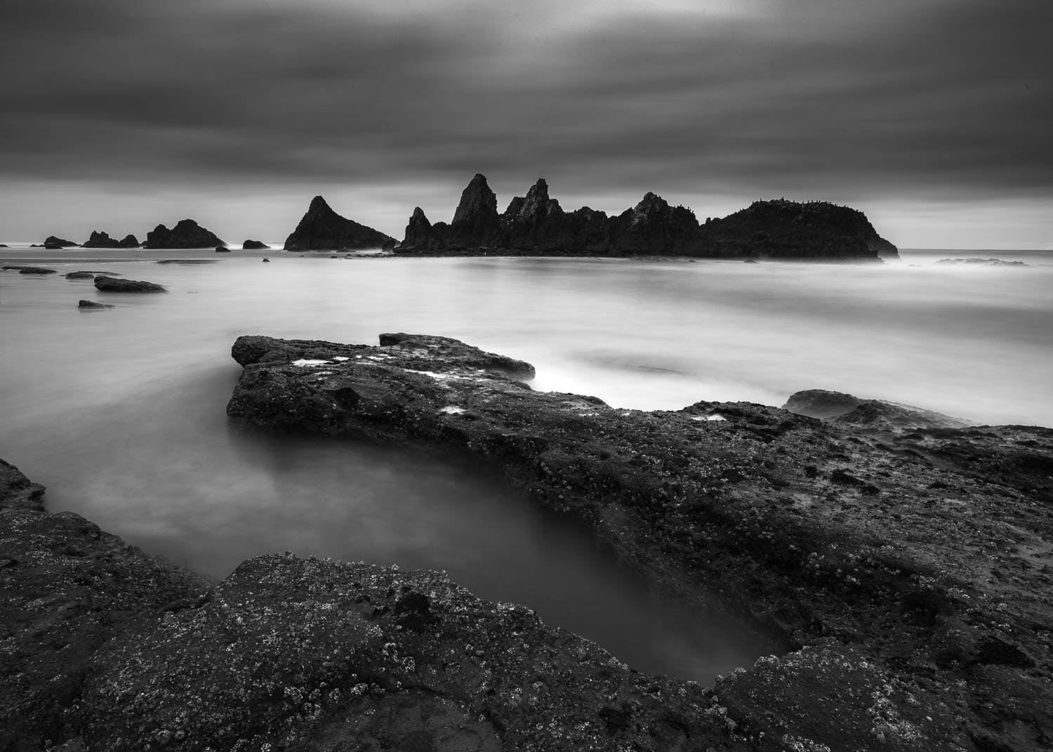 Photo Workshop location along the rocky coast in Oregon